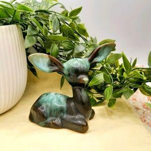 Blue Mountain Pottery Fawn Deer Figurine